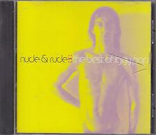 IGGY POP - nude & rude  the best of CD