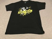 """Finn Balor """"This is Real"""" NXT Authentic T-Shirt WWE RAW SMACKDOWN THE DEMON NICE"""