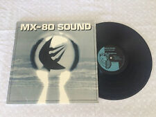 MX-80 SOUND OUT OF THE TUNNEL PUNK ROCK 1980 USA PRESS LP