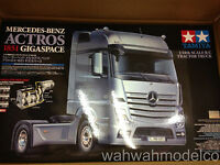 Tamiya 56335 1/14 Scale RC Tractor Truck Kit Mercedes-Benz Actros 1851 Gigaspace