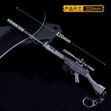 1/6 Scale SLR FAL Sniper Rifle gun Russian in PUBG BattleField4 Decay2
