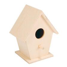 Futterhaus,Nistkasten,Vogelhaus-Set I+H-Haus zum selbst bemalen