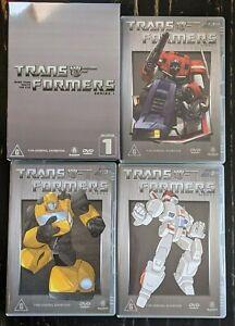 Transformers G1 Animated Series Season 1 DVD Collection Boxset