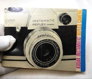 Kodak Instamatic Reflex Appareil Photo Guide Manuel Anglais