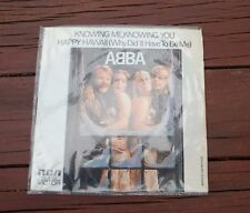 """ABBA KNOWING ME,KNOWING YOU MEXICAN VINYL LP 7"""" MEXICO 1977 RCA SP-4785"""