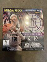 2019-20 Panini Illusions Basketball NBA Mega Box Factory Sealed Ja/Zion
