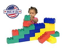 Brand New 24pc Jumbo Blocks - Beginner Set Indoor/Outdoor Play Environment Safe