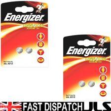 4 LR44 Energizer Alkaline coin Batteries 357 AG13 A76