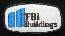 "FBI BUILDING EMBROIDERED SEW ON PATCH ADVERTISING TOURIST SOUVENIR 3 1/2"" x 2"""