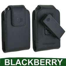Genuine BLACKBERRY CURVE 9360 Pelle Custodia Case Cover Smartphone Cellulare