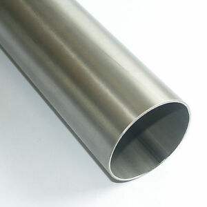 "Edelstahl Rohr V2A 1.4301 3"" 76,1mm Leitungsrohr 25cm 50cm 100cm 1m Auspuff"