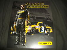 2012 MARCOS AMBROSE #9 STANLEY BED CREEPER NASCAR POSTCARD