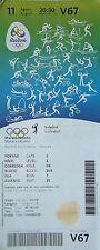 TICKET A 11.8.2016 Olympia Rio Volleyball Men's Italien - Mexiko # V67