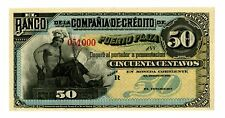 Dominican Republic ... P-S102r ... 50 Centavos ... ND(188X) ... *UNC*