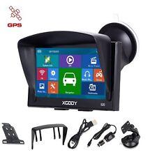 XGODY 5 inch Vehicle GPS Navigation Capacitive Touchscreen SAT Nav 8GB 2D 3D Map