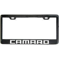 Handmade 100% Real Carbon fiber Chevy Camaro License Plate Frame