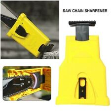 Easy Chainsaw Teeth Sharpener Saw Chain Sharpening Grinder Woodworking Tool