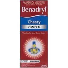 BEST PRICE! ツ  BENADRYL CHESTY FORTE 200 ML  DISCOUNT CHIMEST