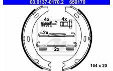 ATE Juego de zapatas frenos MERCEDES-BENZ CLASE C CLK E 03.0137-0170.2
