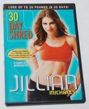 Jillian Michaels 30 Day Shred 2007 60 Minute Fitness Exercise DVD Video