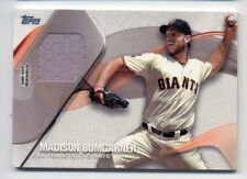 2017 Topps MADISON BUMGARNER Rare GAME JERSEY CARD #MBU San Francisco Giants SP