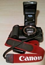 CANON  camera EOS 10S 35MM SLR BODY & Vivitar auto Focus Zoom 736AFC flash