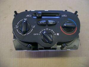 PEUGEOT 206 BEHR HEATING VENTILATION CONTROL PANEL FAN A/C OFF 99210 10687.01