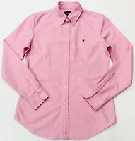 Ralph Lauren Oxford shirt  Custom fit In Pink