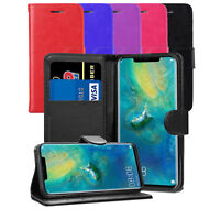 For Huawei Mate 20 Pro LYA-L09, LYA-L29 Case - Leather Wallet Flip Case Cover