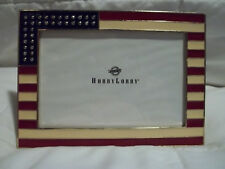 USA American Flag Picture Frame Military Studs 3.5X5.5 in. Hobby Lobby Patriotic