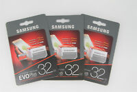 MicroSD Memory Card 32GB 64GB Mobile Camera Evo Plus Class 10 X3 Pack