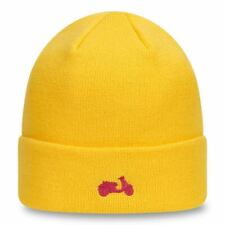 New Era Minibike Knitted Beanie With Cuff ~ Vespa yellow