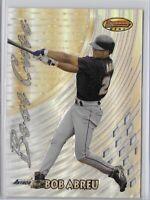 1997 Bowmans Best Cuts Bob Abreu Refractor SP No. BC17