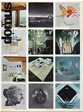 rivista ARCHITETTURA DOMUS ANNO 1973 NUMERO 522