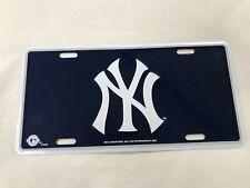 New York Yankees MLB Souvenir License Plate - Standard US Size