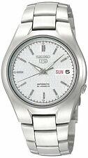 全新現貨SEIKO精工 5 Men's SNK601K1 自動 Silver 不銹鋼Bracelet 手錶 HK*1