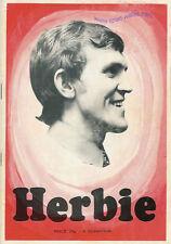 "HERBIE WILLIAMS Swansea Town City ""Herbie"" Vetch Field favourite booklet"