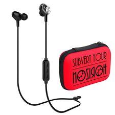 Noziroh Beats E2 Auricolari Bluetooth Sport Stereo In-Ear Riduzione Rumore Nero