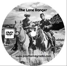 LONE RANGER (1,044 SHOWS) OTR MP3 2 DVD'S