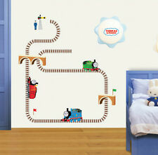 Thomas The Train Friend_Kids Nursery Room Wall Art Paper Removable Sticker #703