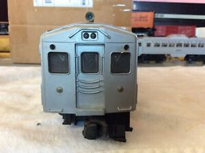 Lionel B&O Passenger Rail diesel car 56 to 58 Silver  No.400