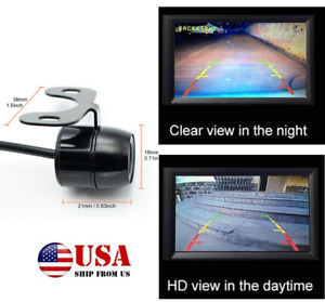 1/3Car Front/Rear/Side View Reverse Camera HD 170° Wide Angle Backup Parking Cam