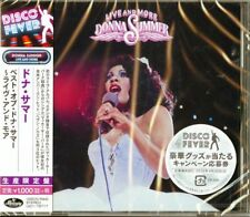 DONNA SUMMER-LIVE AND MORE-JAPAN CD Ltd/Ed B63