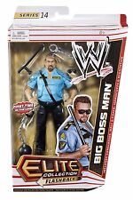 WWE BIG BOSS MAN ACCESSORIES ELITE SERIES 14 MATTEL WRESTLING ACTION FIGURE WWF