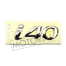 2012 2013 2014 2015 HYUNDAI i40 Genuine OEM Rear Trunk Logo Emblem 1pc