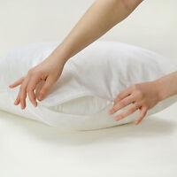 Anti-Allergy Zipped 100% Cotton Protector Mattress,Duvet,Pillow All Sizes
