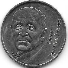 5 Francs , Mendès France 1992
