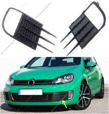 1Set Front Bumper Fog Light Lamp Frame k Trim For VW Golf 6 GTI 2009-2013