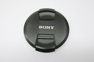 For Sony 82mm front lens cap center pinch buckle Camera Plastic OEM
