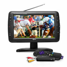 """Axess 9"""" LCD TV with Roku & Built-in Speakers TV1703-9"""